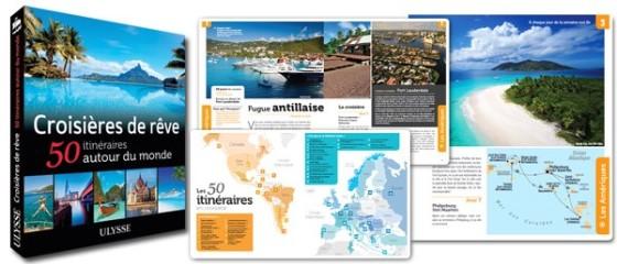 Croisières de rêve - 50 itinéraires autour du monde - Cartes