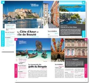 Croisières de rêve - 50 itinéraires autour du monde - Pages