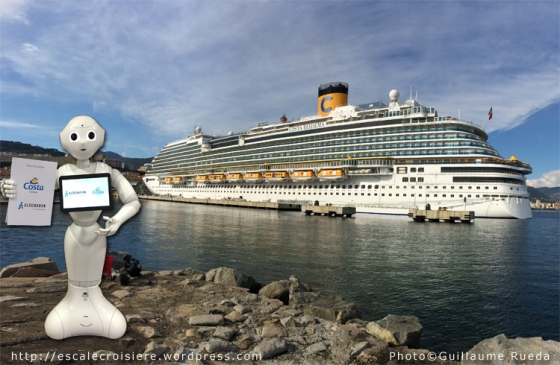 Costa Diadema - Pepper Robot