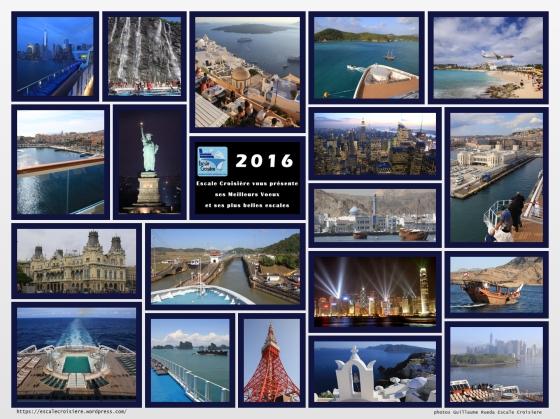 Escale Croisière vous souhaite une Bonne Année 2016