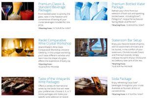 Package Boissons - Celebrity Cruises - Téléchargez les tarifs 2015