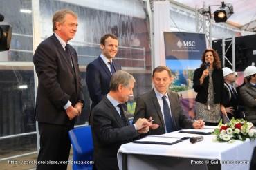 2016-02-01 MSC Meraviglia - Saint Nazaire - pièce et signature de contrat (3)