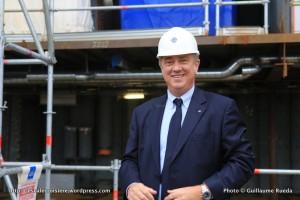 2016-02-01 MSC Meraviglia - Saint Nazaire - pièce et signature de contrat - Pierfrancesco Vago