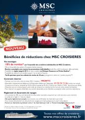 Bon plan MSC - Offre Escale Croisiere