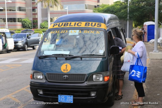 Grand Cayman - George Town - Public Bus