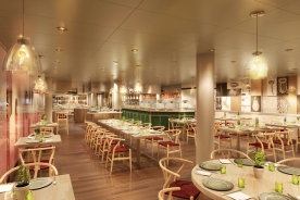Koningsdam - Culinary Arts Center presented by Food & Wine Magazine
