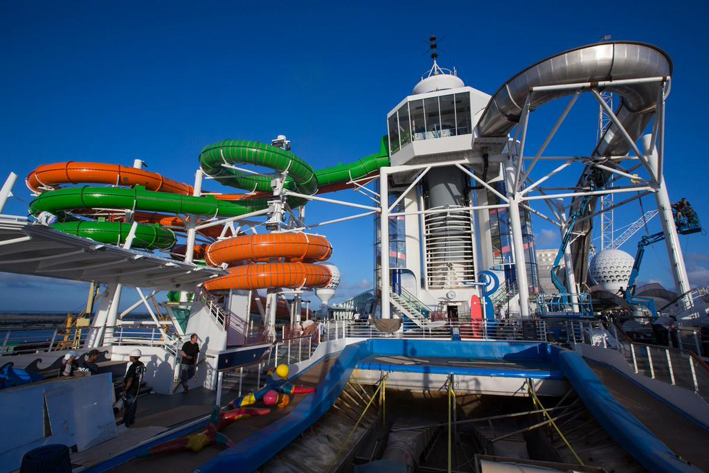 Liberty of the Seas - toboggans Perfect Storm et Tidal Wave - Royal Caribbean