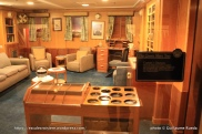 Queen Mary - Captain's bedroom - cabine commandant