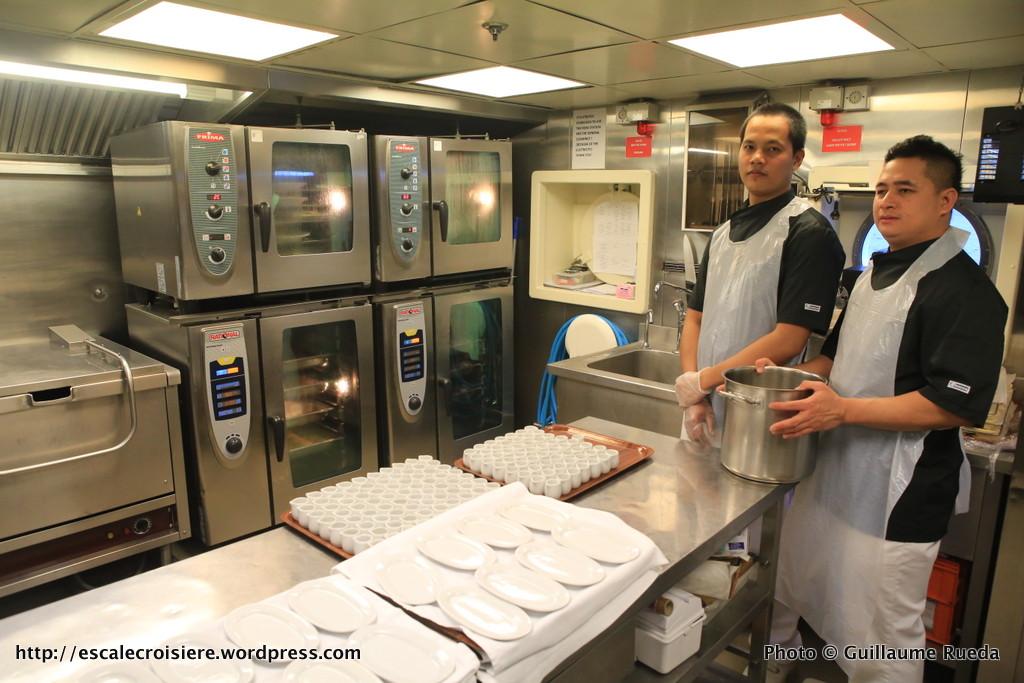 Belle de l'Adriatique - Dans les coulisses des cuisines