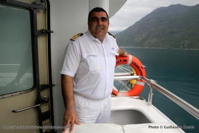 Belle de l'Adriatique - Passerelle de commandement - Capitaine Dabelic Ivica
