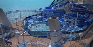 MSC Meraviglia - Aquapark - Toboggans