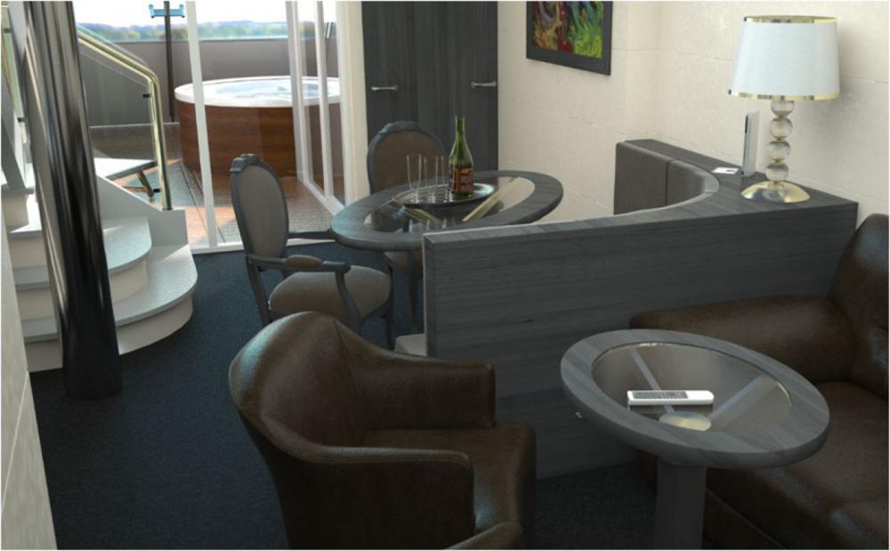 MSC Meraviglia - Cabine Duplex