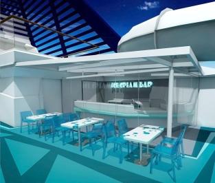 MSC Meraviglia - ice cream bar