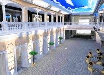 MSC Meraviglia - Promenade intérieure avec écran LED Géant