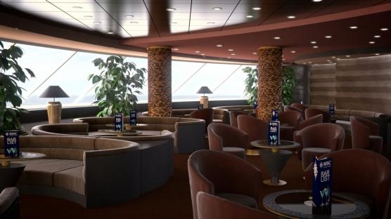MSC Meraviglia - Yacht Club Lounge