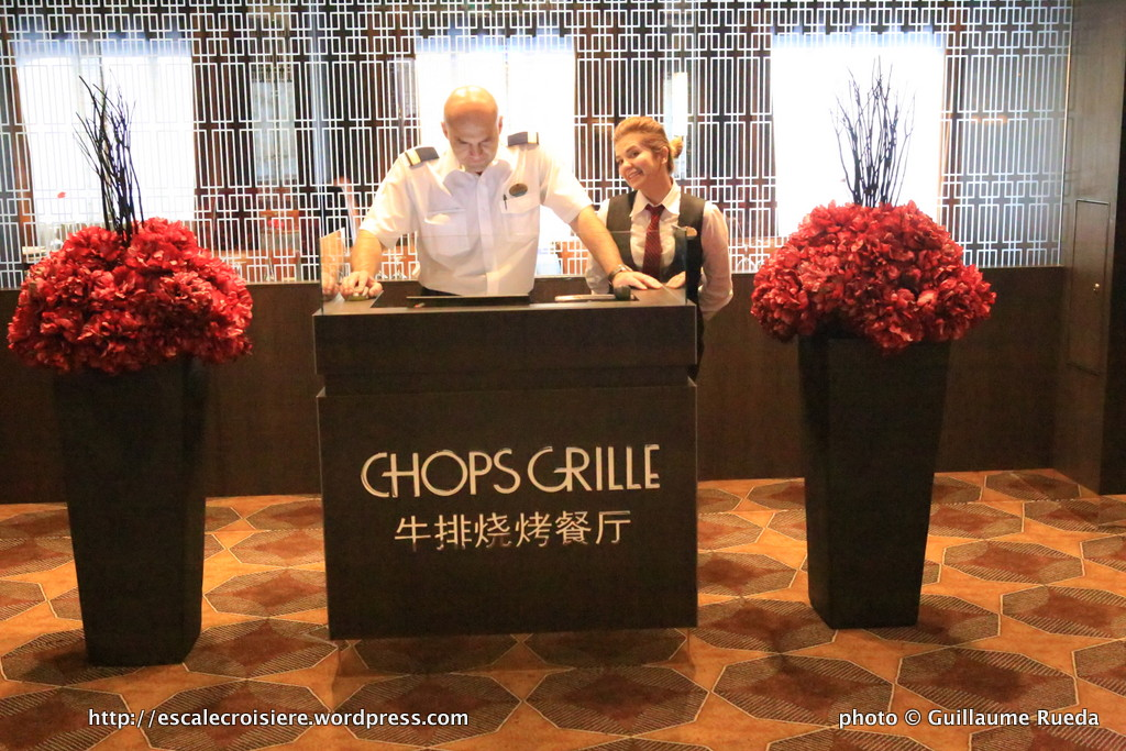 Ovation of the Seas - Chops Grille