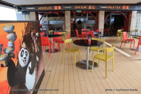 Ovation of the Seas - Kung Fu Panda Noodle Shop