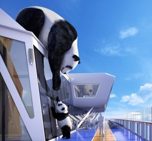 Ovation of the Seas - Panda géant - Seaplex
