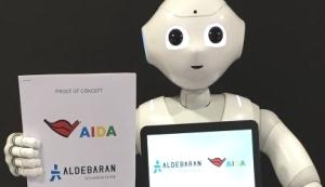 AIDAprima Pepper Robot