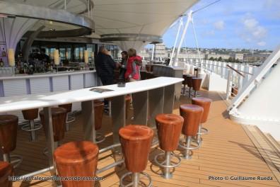 AIDAprima - Weiter Welt restaurant - terrasse