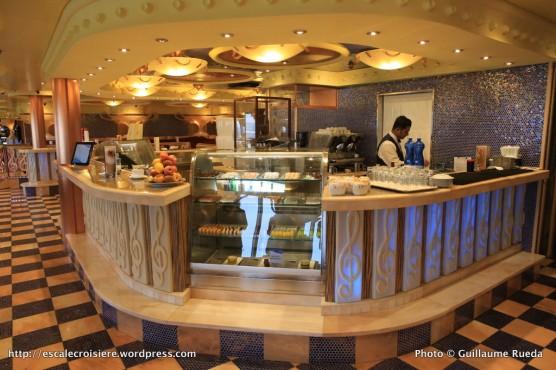 Costa Pacifica - Bar à chocolat - Caffetteria Rondò