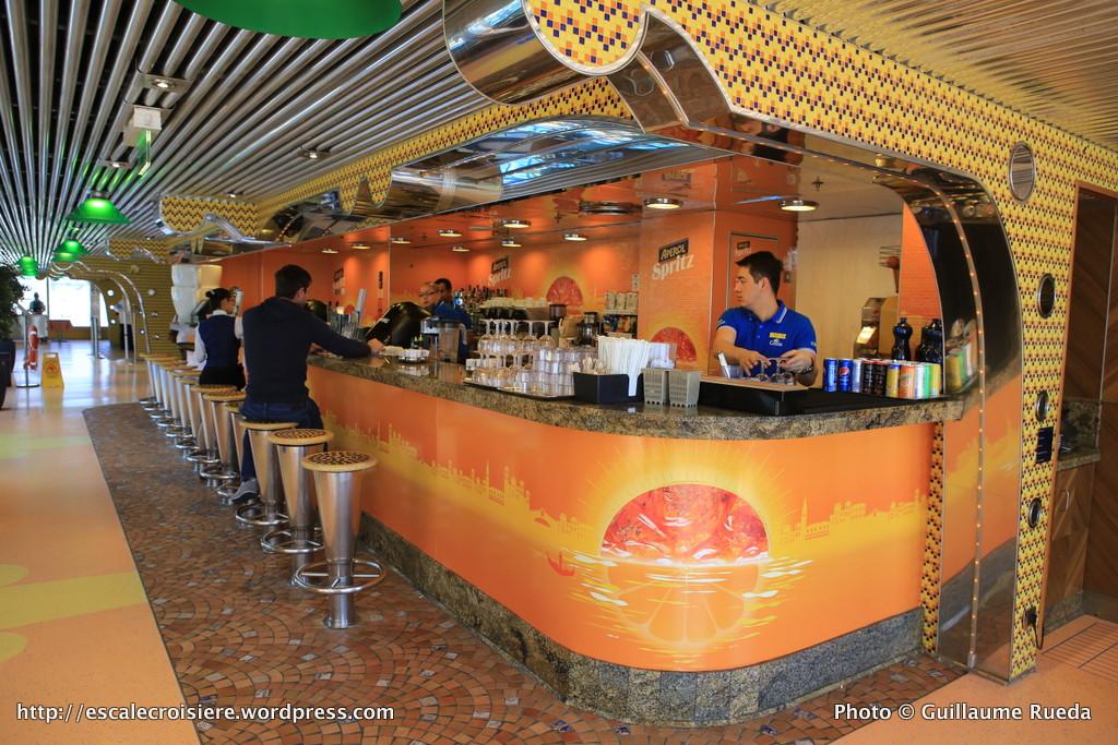 Costa Pacifica - Bar à Spritz