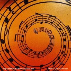Costa Pacifica - décoration sur le thème de la musique