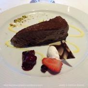 Costa Pacifica - gâteau au chocolat