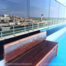 Costa Pacifica - Ponts extérieurs solariums