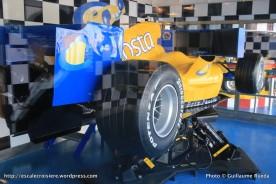 Costa Pacifica - Simulateur de F1