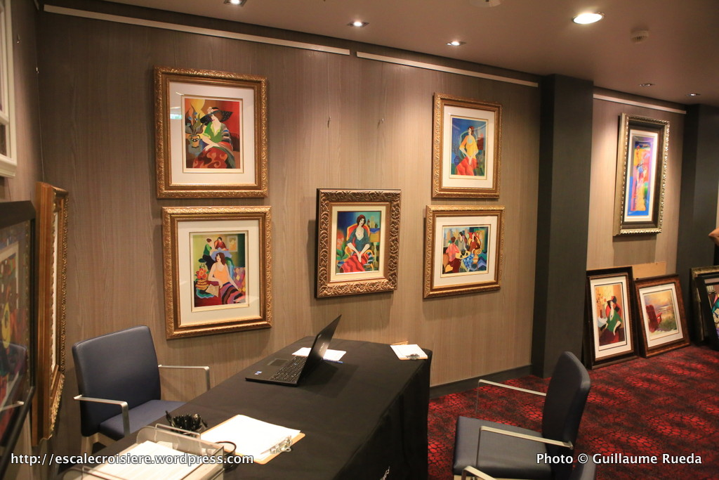 Harmony of the Seas Art Auction