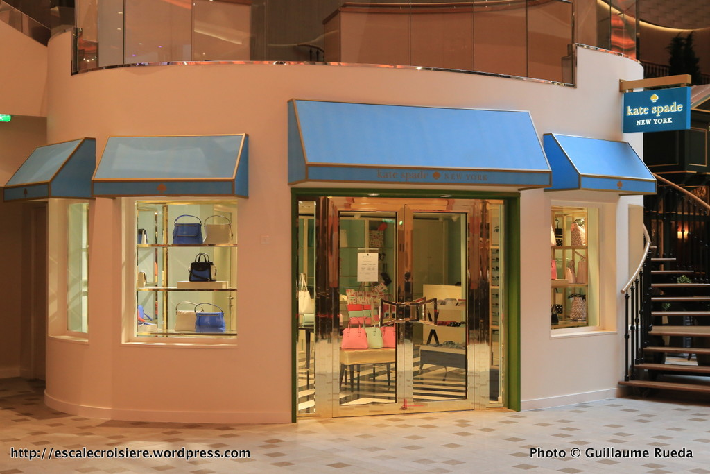 Harmony of the Seas - boutique Kate Spade- Royal Promenade