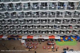 Harmony of the Seas - Cabine balcon sur Boardwalk