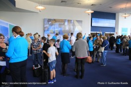 Harmony of the Seas - Check in - Embarquement