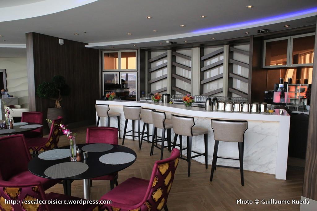 Harmony of the Seas - Coastal Kitchen et Suite lounge