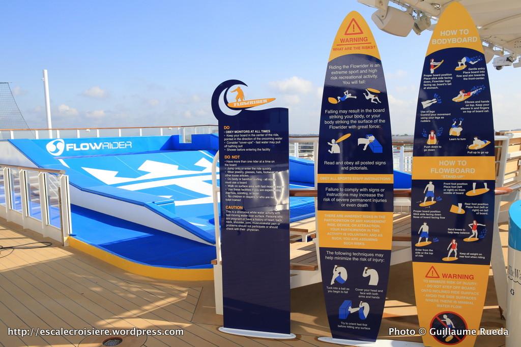 Harmony of the Seas - Flowrider