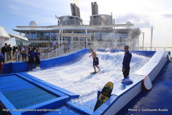 Harmony of the Seas - Flowrider