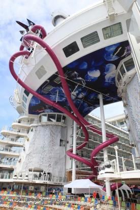 Harmony of the Seas - Mur d'escalade