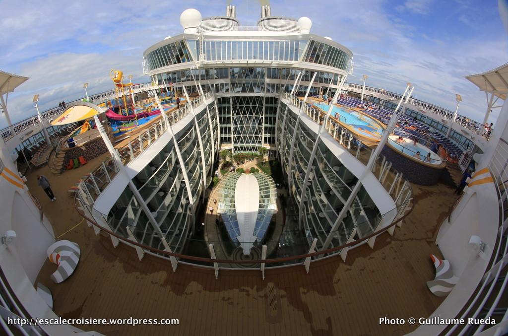 Harmony of the Seas - Piscines - Pont extérieur