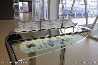 Harmony of the Seas - Plan des ponts
