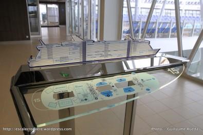 Harmony of the Seas - Plan des ponts