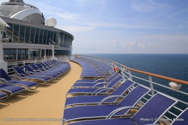 Harmony of the Seas - Pont extérieur - transats