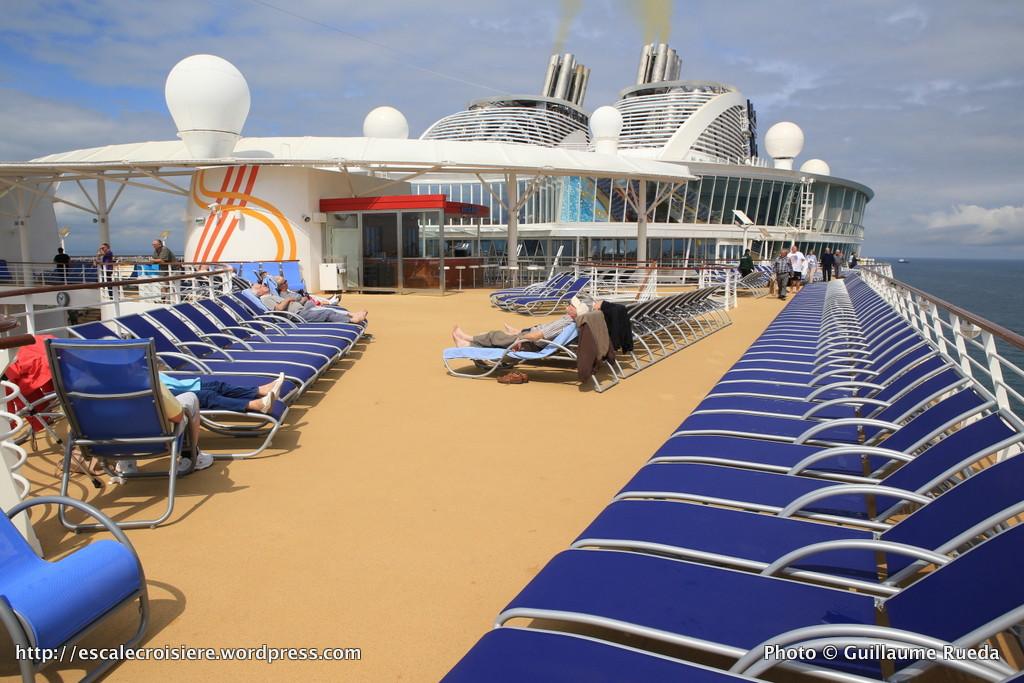 Harmony of the Seas - Pont extérieur - transats