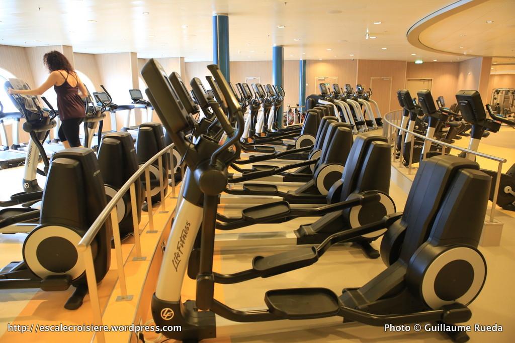 Harmony of the Seas - salle sport