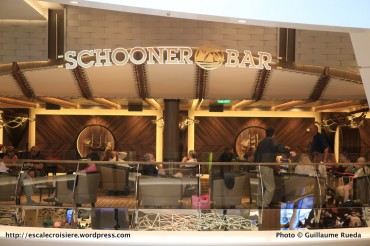 Harmony of the seas - Schooner bar