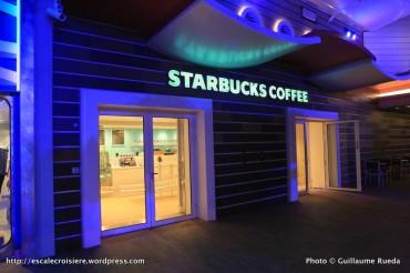 Harmony of the Seas - Starbuck Coffee - Boardwalk