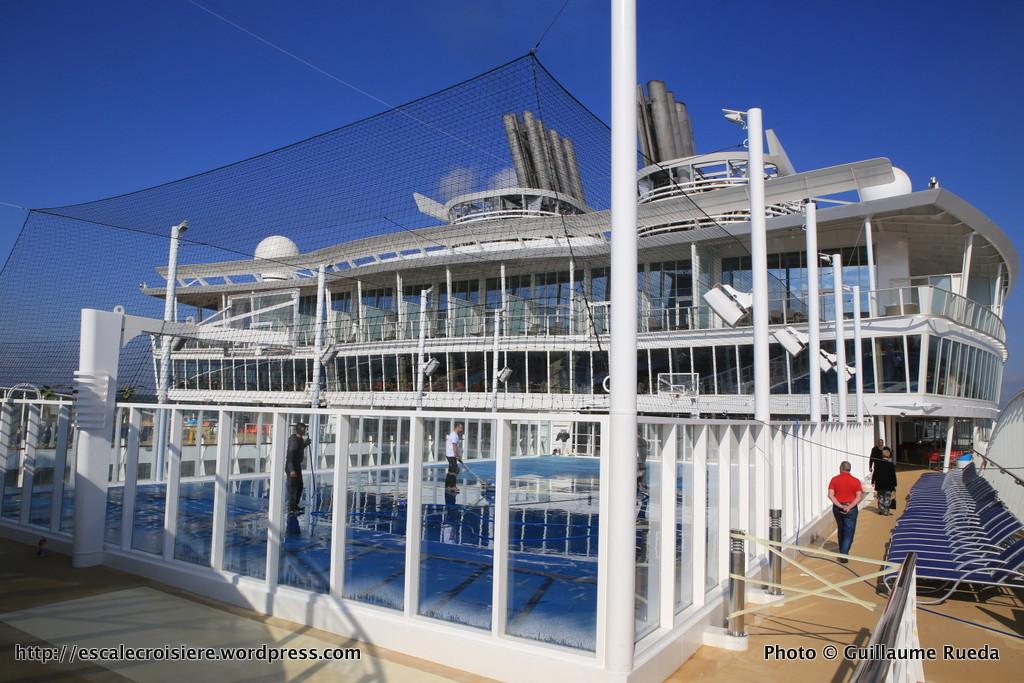 Harmony of the Seas - terrain de sports