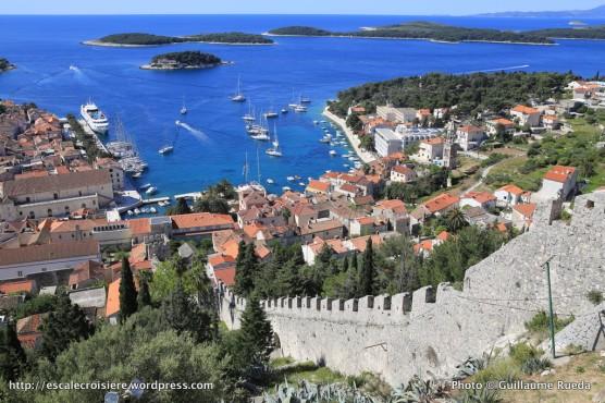 Forteresse espagnole de Hvar - Croatie