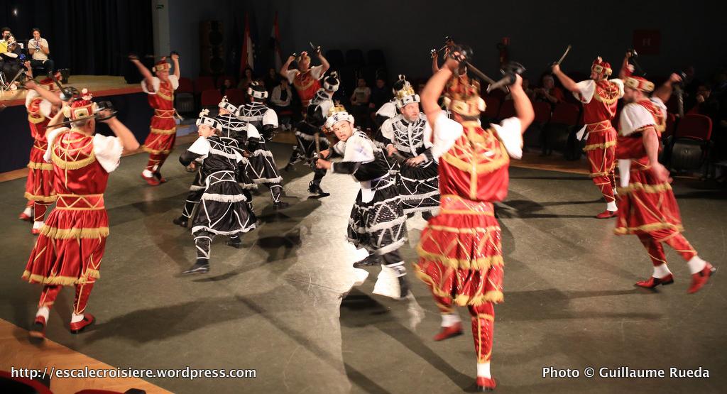 Korcula - danse du sabre - Croatie