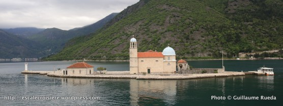 Kotor - les îles Saint-Georges et Notre-Dame-du-Rocher - Montenegro